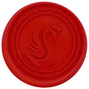 lak do pieczęci czerwony matowy jasny.