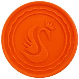lak do pieczęci pomarańczowy matowy