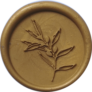 Stempel kaligraficzny - oliwka
