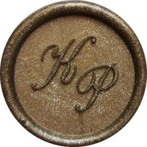 Pieczęć lakowa monogram – BEZ OBRAMOWANIA