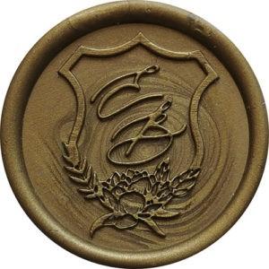Pieczęć lakowa monogram – TARCZA 1